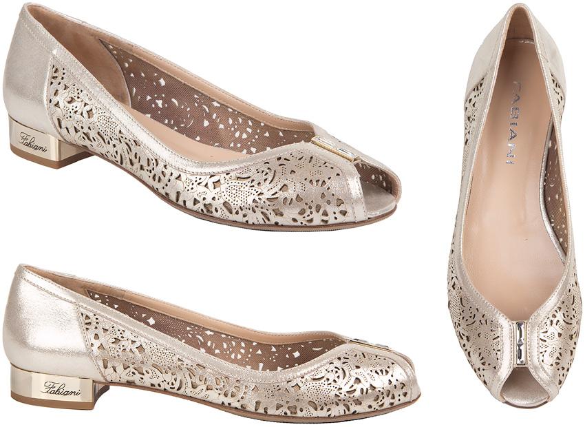 12221daf4 Итальянская обувь Giovanni Fabiani. Бежевые женские кожаные Giovanni ...