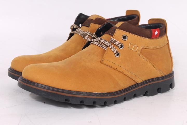 Зимние мужские полуботинки и ботинки